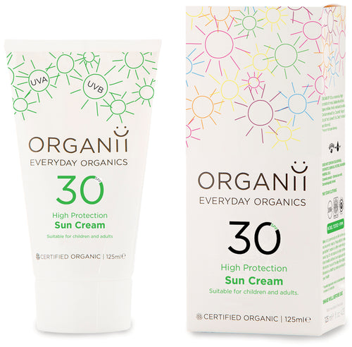 Organii Sun Cream SPF 30 - High Protection - 125ml