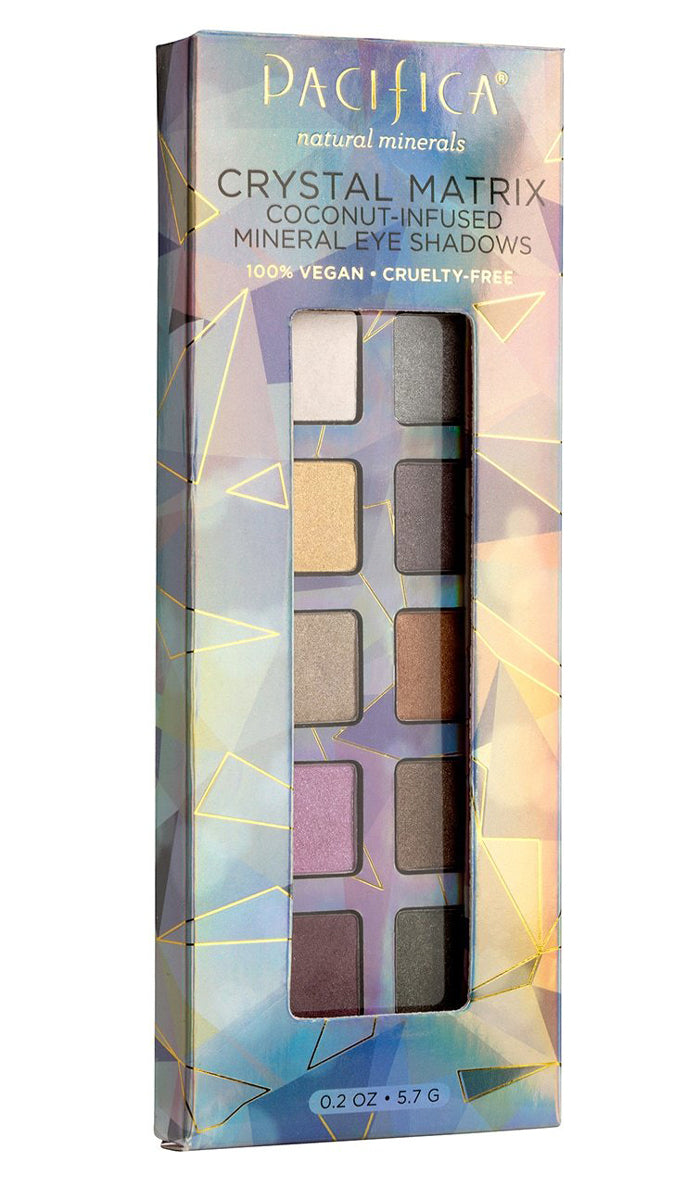 Pacifica Crystal Matrix Mineral Infused Eye Shadows