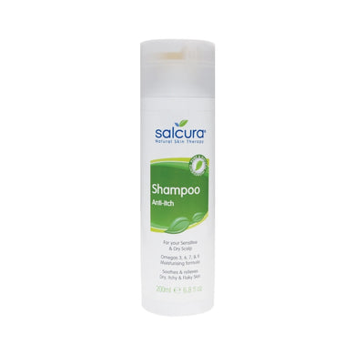 Salcura Anti-Itch Shampoo for Sensitive & Dry Scalp - 200ml