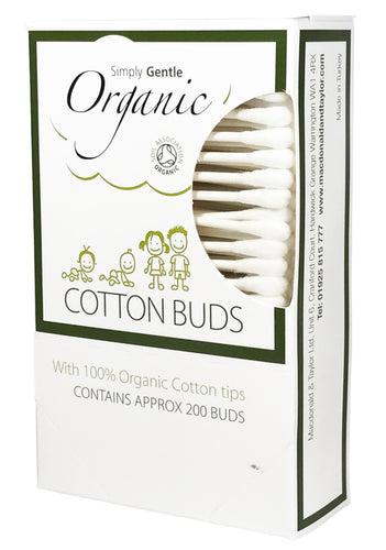 Simply Gentle Organic Cotton Buds Pack of 200