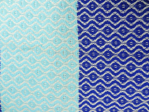 Morganicsbeauty Su Turkish Hammam Peshtemal, Beach Towel Blue/Turqoise 100x170cm