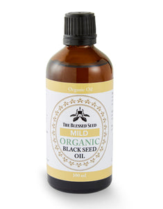 The Blessed Seed Organic Black Seed Oil 100ml - Mild