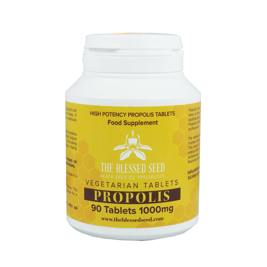 The Blessed Seed Propolis Capsules 1000mg 90 Capsules