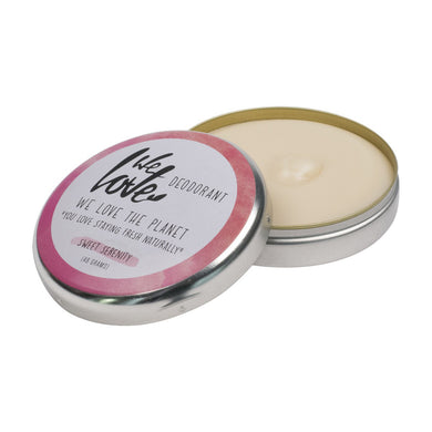 We Love the Planet Sweet Serenity Cream Deodorant Tin 48g - mOrganics Beauty