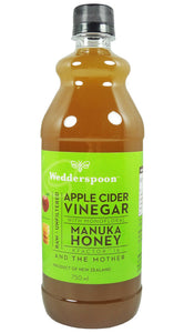 Wedderspoon Apple Cider Vinegar & Manuka Honey 750ml