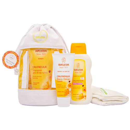 Weleda Calendula Top to Toe Collection