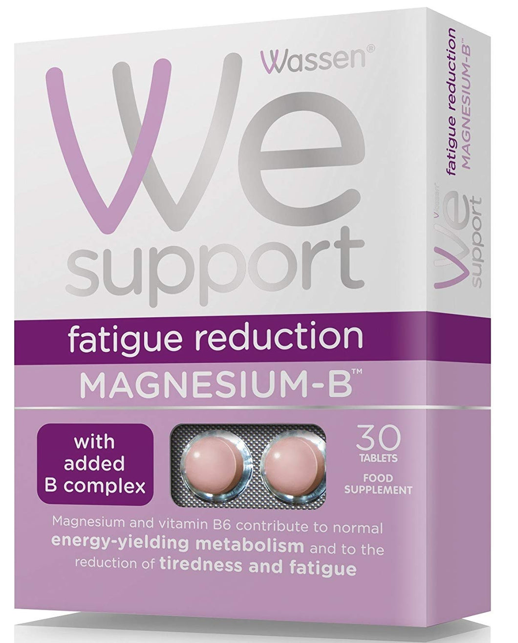 Wassen Magnesium-B 30 Tablets with added B Complex
