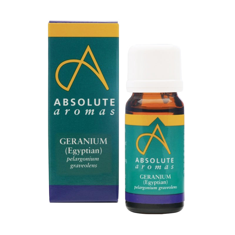 Absolute Aromas Geranium (Egyptian) Oil 10ml