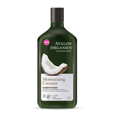 Avalon Organics Moisturising Coconut Conditioner 325ml - mOrganics beauty