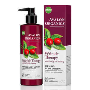 Avalon Organics Wrinkle Therapy Firming Body Lotion with CoQ10 & Rosehip 227g
