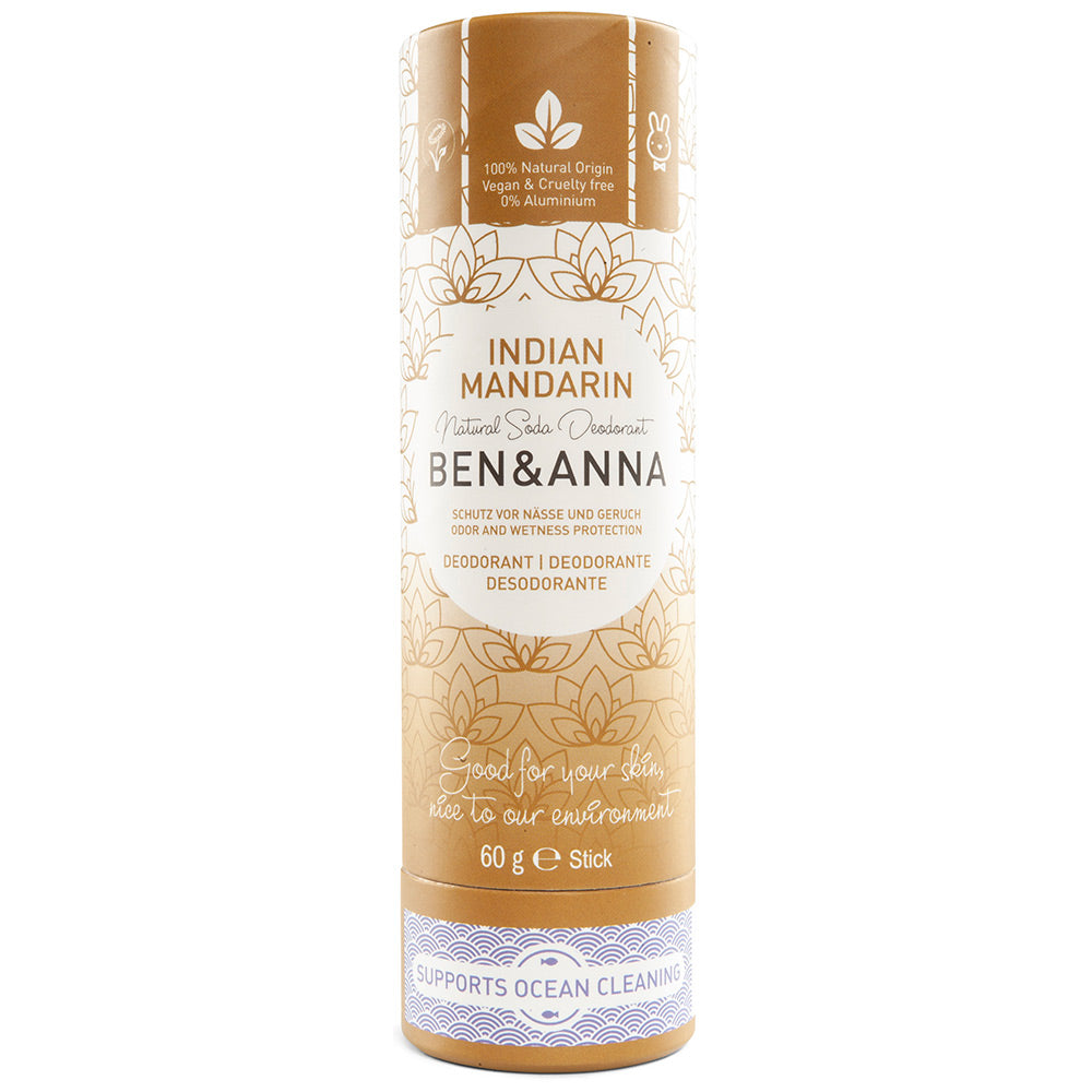 Ben & Anna Indian Mandarin Deodorant Stick 60g