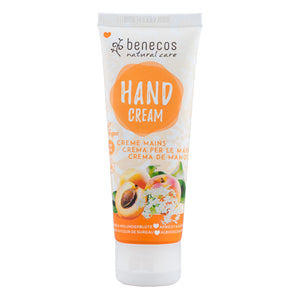 Benecos Natural Hand Cream Apricot and Elderflower 75ml