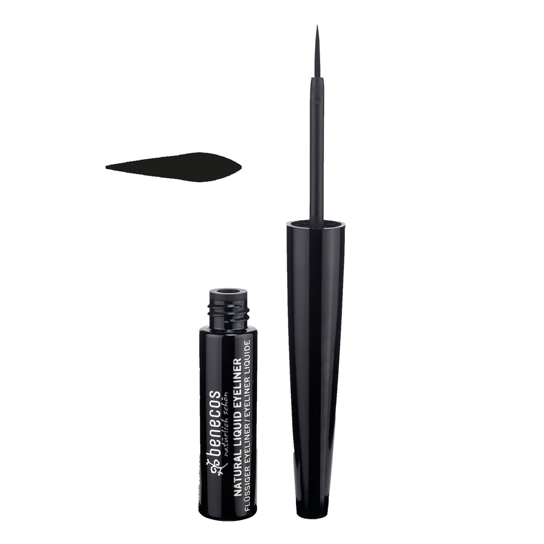 Benecos Natural Liquid Eyeliner - Black 3ml