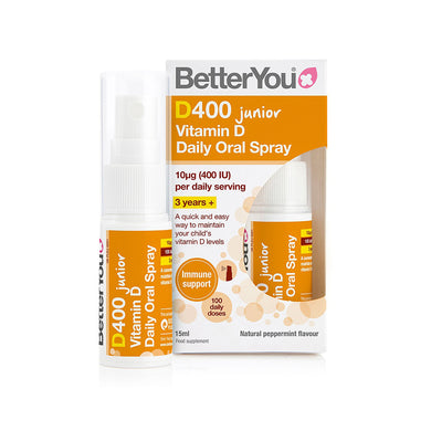 BetterYou DLux Junior Vitamin D Daily Oral Spray 15ml - mOrganics Beauty