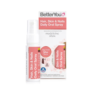 BetterYou Hair, Skin and Nails Daily Oral Spray 25ml - mOrganics Beauty