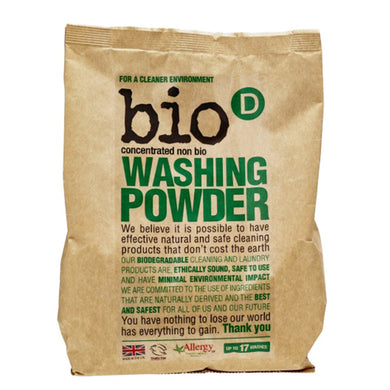 Bio-D Concentrated Non Bio Washing Powder 1kg