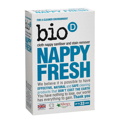 Bio-D Nappy Fresh Non-Biological Nappy Cloth Sanitiser 500g