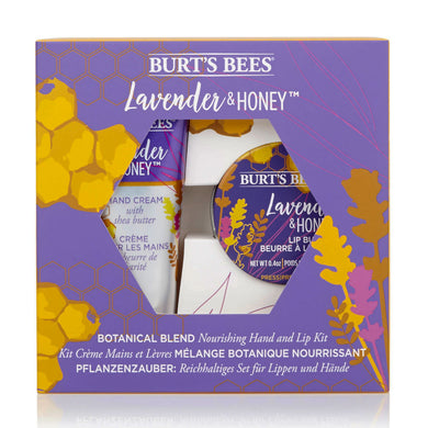 Burt's Bees Nourishing Hand & Lip Kit - Lavender and Honey