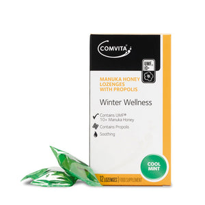 Comvita Cool MInt Manuka Honey Lozenges 12 Lozenges