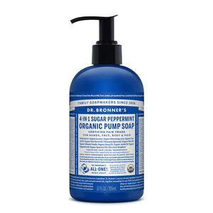 Dr. Bronner's Organic Pump Soap - Peppermint 355ml