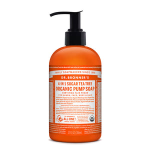 Dr. Bronner's Organic Pump Soap - Tea Tree 355ml
