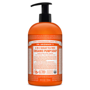 Dr. Bronner's Organic Pump Soap - Tea Tree 710ml