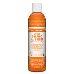 Dr. Bronner's Citrus Hair Conditioning Rinse 236ml