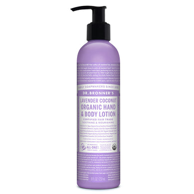 Dr. Bronner`s Lavender Coconut Hand & Body Lotion 236ml