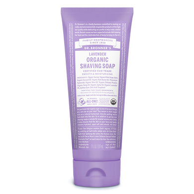 Dr. Bronner`s Lavender Shaving Gel 208ml