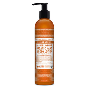 Dr. Bronner`s Orange Lavender Hand & Body Lotion 236ml