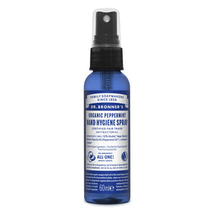 Dr. Bronner's Peppermint Hand Hygiene Spray 60ml