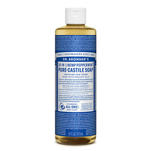 Dr. Bronner's Peppermint Castile Liquid Soap 473ml