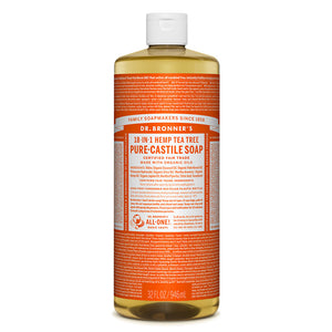 Dr. Bronner's Tea Tree Castile Liquid Soap 946ml