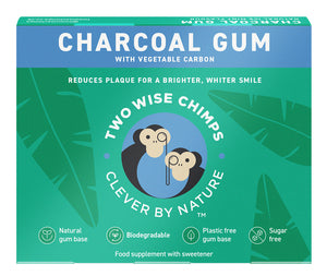 Two Wise Chimps Charcoal Gum 9 Pellets 21g