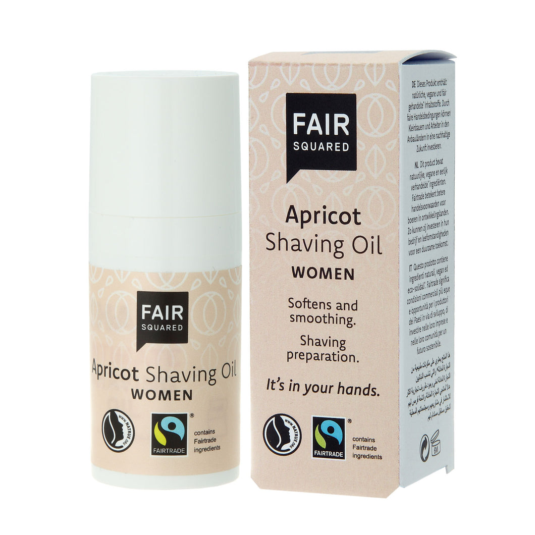Fair Squared Womens Apricot Shaving Oil 15ml