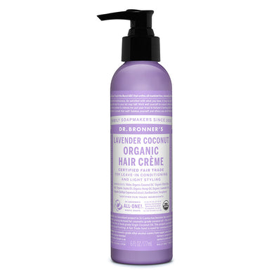 Dr. Bronner's Lavender Styling Cream & Hair Conditioner 178ml
