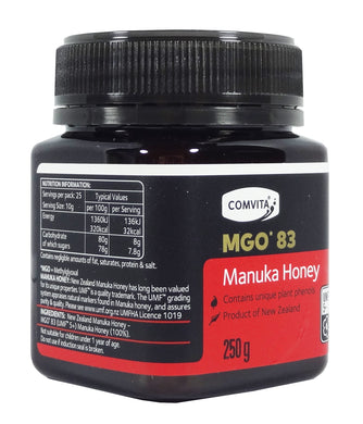 Comvita MGO*83 UMF 5+ Manuka Honey 250g