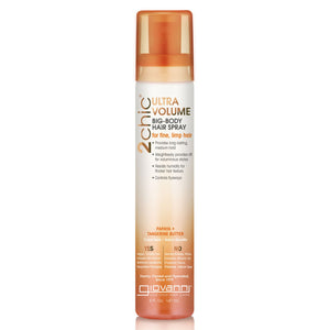 Giovanni 2chic Ultra-Volume Papaya & Tangerine Butter Big Body Hair Spray 147ml
