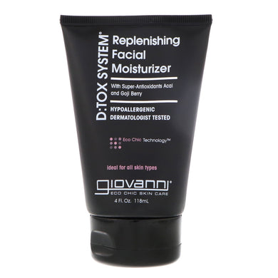 Giovanni D:Tox System Replenishing Facial Moisturiser 118ml