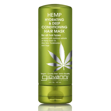 Giovanni Hemp Hydrating & Deep Conditioning Hair Mask 147ml - mOrganicsbeauty