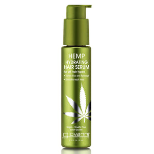 Giovanni Hemp Hydrating Hair Serum 81ml - mOrganicsbeauty