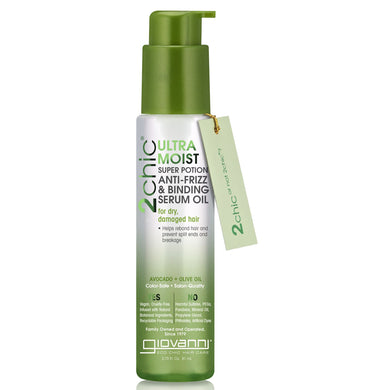 Giovanni 2chic Ultra Moist Super Potion Avocado & Olive Oil Serum Oil 81ml