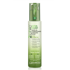 Giovanni 2chic Ultra Moist Leave in Conditioning & Styling Elixir Avocado & Olive Oil 118ml