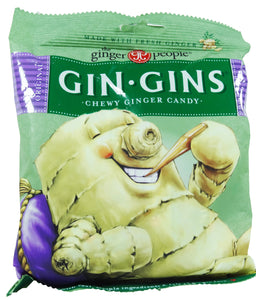 The Ginger People Gin-Gins Original Chewy Candy Bag 150g