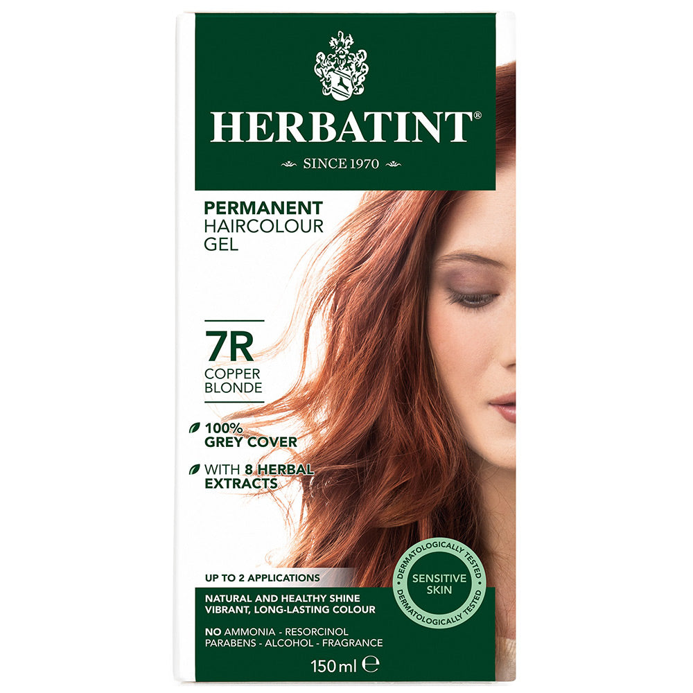 Herbatint Herbal Hair Dye Copper Blonde 7R - morganocsbeauty
