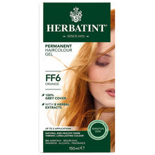 Herbatint Herbal Hair Dye Orange FF6 - morganicsbeauty
