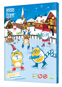 Moo Free Dairy Free Chocolate Advent Calendar 100g
