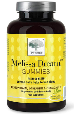 New Nordic Melissa Dream Gummies 60 Count