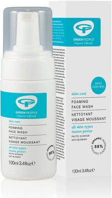 Green People Foaming Face Wash 100ml