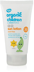 Green People Children Unscented Sun Lotion SPF30 150ml